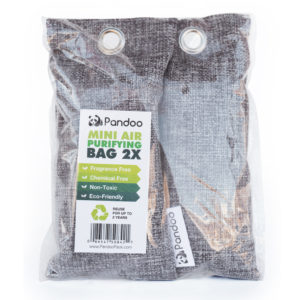 Bamboo Charcoal Air Purifying Bag 2 pack